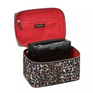 Victoria's Secret Leopard Weekender Train Case